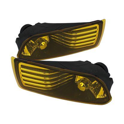 2005-2010 Scion TC OEM Fog Lights with Switch - Yellow