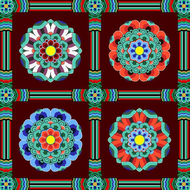 Korean traditional pattern design korean traditional pinterest corea y - 5 5 designers bernardaud ...