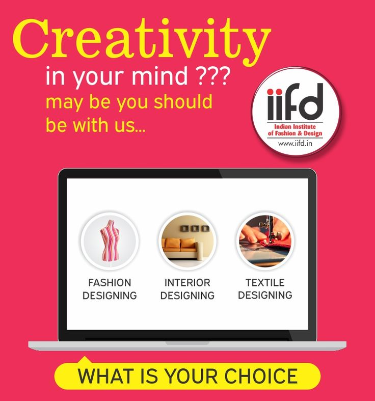 Creativity in your mind ???  Join us for Fashion,Textile & Interior designing courses. Admission open!!!Limited Seats Available!!!  Fill online Admission form @ http://iifd.in/ (y) For more assistance contact @ 9041766699  #iifd #best #fashion #designing #institute #chandigarh #mohali #punjab #design #admission #india #fashioncourse #himachal #InteriorDesigning #msc #creative #punjab #haryana