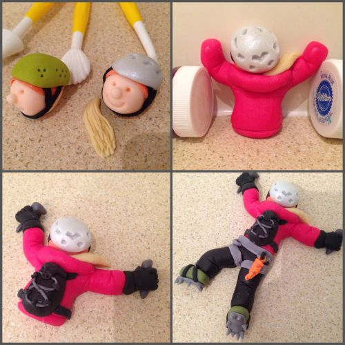 rock climbing cake figures - Google Search