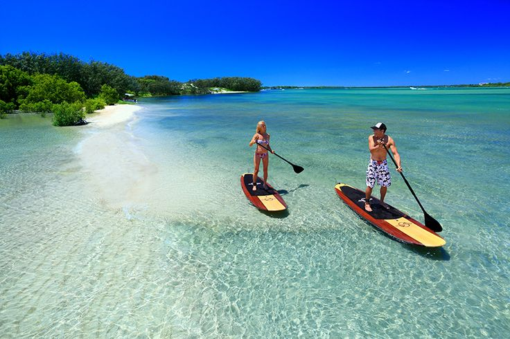 Stand up paddle boarding on The Sunshine Coast
