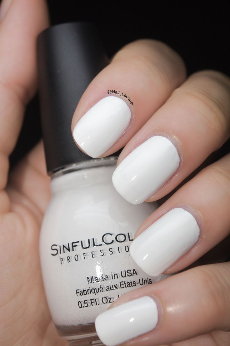 1000+ Ideas About Best White Nail Polish On Pinterest