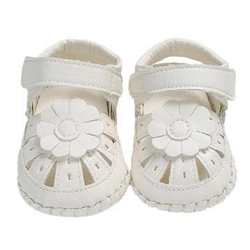 471e1c4d7191 0-18 Months- 3 Colors- Girls Baby Prewalker Sandals Soft PU Anti-Skid  Breathable Shoes