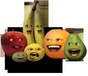 The Annoying Orange Website
