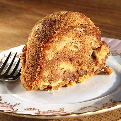 Apple cake from In Erika's Kitchen - grate the apple instead of hainvg chunks