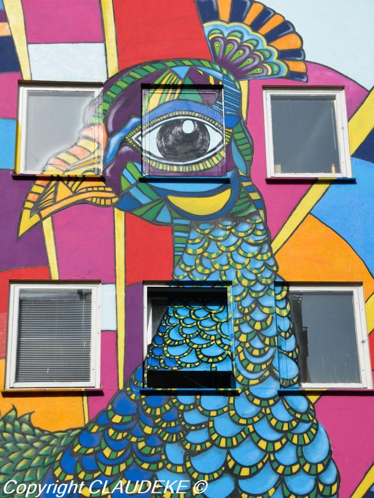 Oslo Grünerlokka street art http://www.claudeke.com