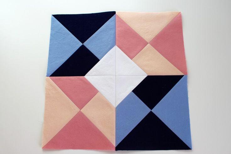 5 minute quilt block instructions