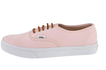 zapatillas vans mujer rosa claro