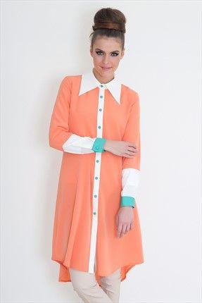 Gönül Kolat - Kadın Tekstil - Bonibon Turuncu G002 sadece 149,99TL ile Trendyol da