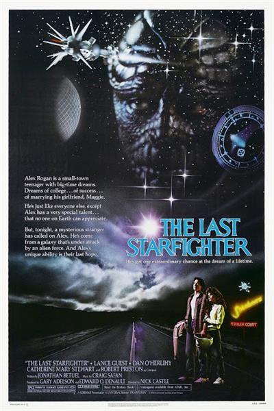 Watch 'The Last Starfighter'.