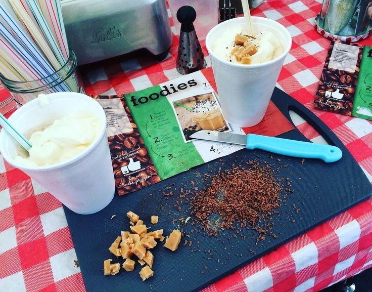 Heb jij ook heerlijke ijskoffie gemaakt tijdens het Italië Evenement, Smaak & Stijl?