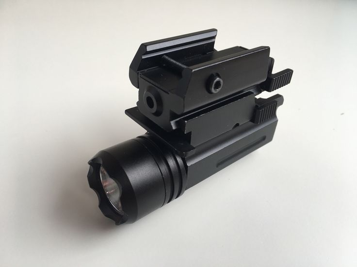 Tactical Red Dot Laser Sight / Flashlight Combo