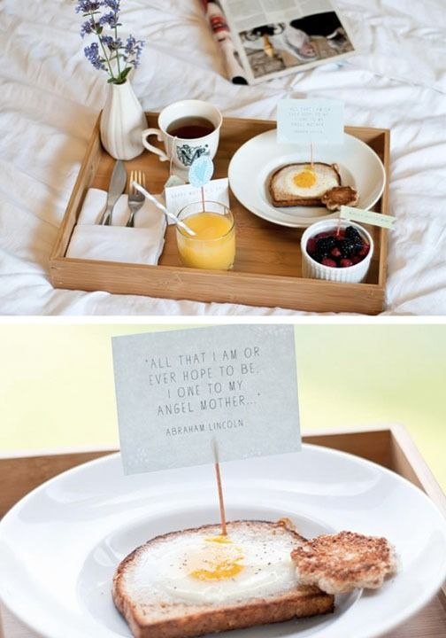 Breakfast in bed tips and ideas for mother s day for Mother s day breakfast in bed ideas