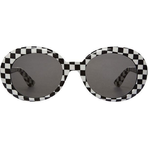 Saint Laurent New Wave 98 California Sunglasses ($280) ❤ liked on Polyvore featuring accessories, eyewear, sunglasses, glasses, multicolor, yves saint laurent, checkered sunglasses, yves saint laurent glasses, colorful glasses and retro sunglasses