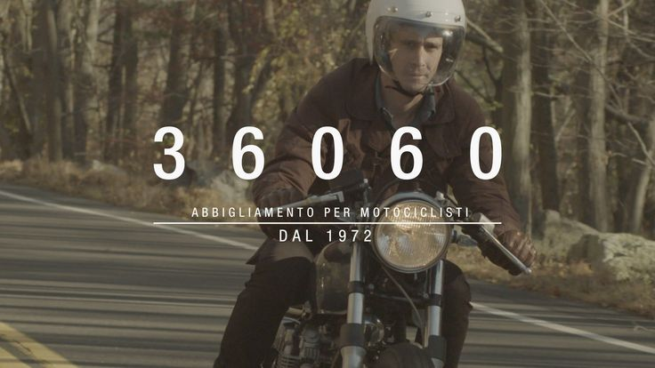 New from @daineseofficial — the vintage-styled 36060 collection of motorcycle gear.