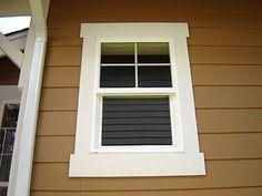 outdoor window trim styles - Google Search