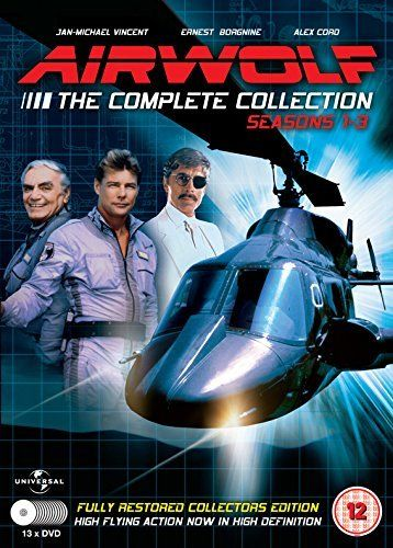 From 25.00 Airwolf - The Complete Collection:seasons 1-3 - 13 Dvd Set [dvd]