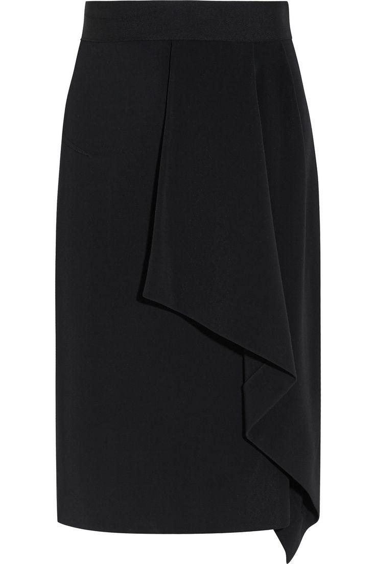 Roland Mouret Eaton draped crepe pencil skirt  NET-A-PORTER.COM £504.17