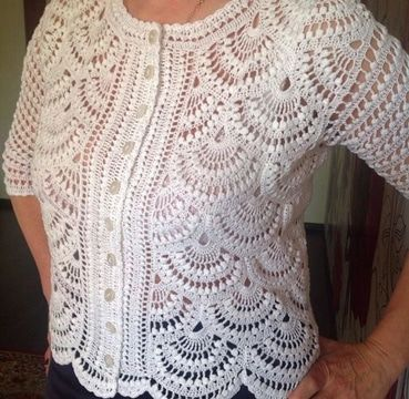 chalecos tejidos con gancho a crochet