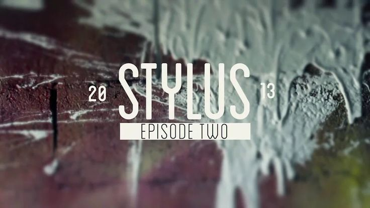 STYLUS | Episode #2: Projection Mural on Vimeo