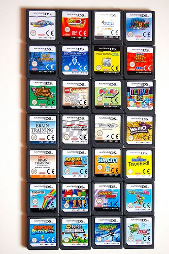 Nintendo DS games :)