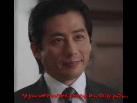 """Revenge Is a stony path..Revenge is a stony path - Hiroyuki Sanada as Satoshi Takeda..  I love Hiroyuki playing Satoshi in Revenge Series 1...and I love his warning, advice and service to Emily regarding Revenge!!  """"You were warned, revenge is a stony path... Remember!! in the vipers nest, you must be a viper too.. How can I be of service??""""  Hiroyuki Sanada as Satoshi Takeda - Emily Thorne's (Emily Vancamp)  Mentor in the art of revenge ~ Revenge Series 1  Ouss!!! Master Sanada San..xox"""