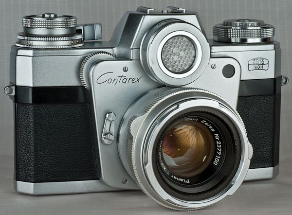 Beautiful. Zeiss Ikon Contarex SLR, 1958 I have this beauty and it still takes stunning photographs!