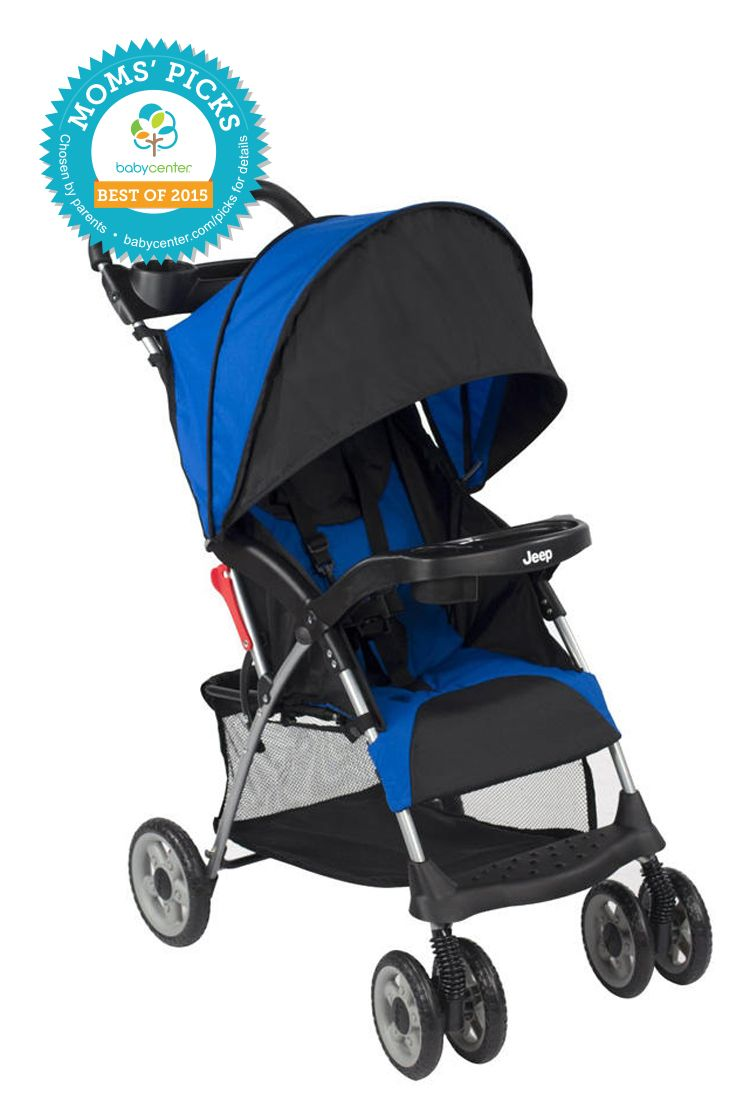 2015 BEST LIGHTWEIGHT/UMBRELLA STROLLER Jeep Cherokee Sport Stroller  *BabyCenter Moms' Picks are based on a nationwide survey and online voting on BabyCenter.com that allow parents to voice their opinions about and share their experience with the key products and gear of parenting. BabyCenter does not endorse any specific product.