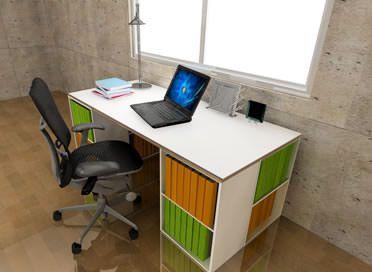 カラーボックス机・デスクの作り方/インテリアDIY