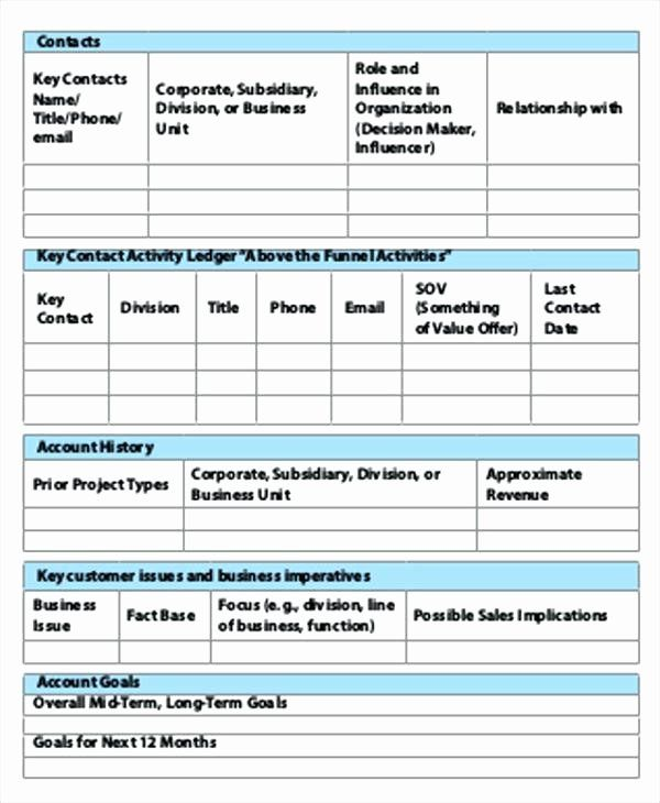 Sales Plan Template Word Inspirational Sales Account Plan Template Strate Simple Business Plan Template Business Plan Template Free Strategic Planning Template