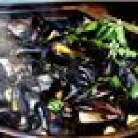 Not the best photo but definitely the best Thai mussel recipe ever!
