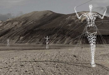 Icelandic Power lines- when beauty and functionality collide.