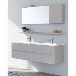 17 migliori idee su doppio lavabo su pinterest doppi - Mobile bagno doppio lavabo 140 ...