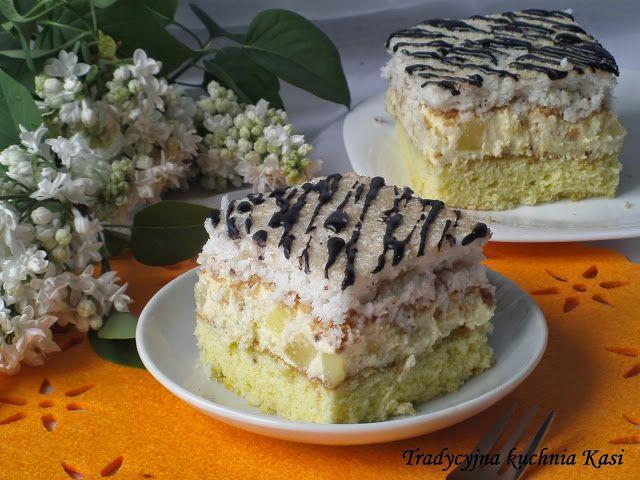 Do weekendowej kawusi polecam pyszne ciasto Hawana. Ciasto to jest jednym z najlepszych ciast jakie jadłam w ostatnim czasie. Beza kokosowa,...