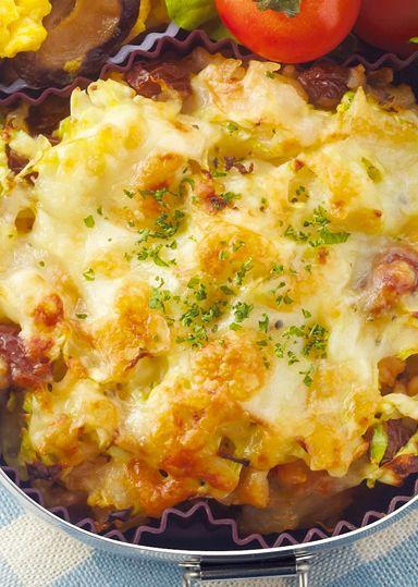 チキントマトライスのドリア弁当 のレシピ・作り方 │ABCクッキングスタジオのレシピ | 料理教室・スクールならABCクッキングスタジオ