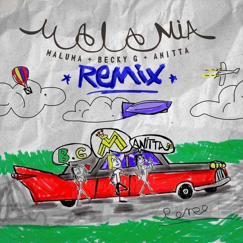 Baixar Musica Mala Mia Remix Maluma Ft Anitta E Becky G 2018