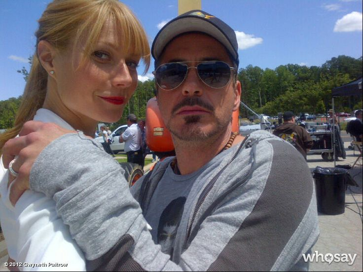 Gwyneth Paltrow & Robert Downey Junior