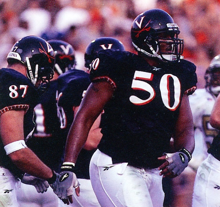 Pin by Robert Viccellio on U.Va. Football Greats 1990s