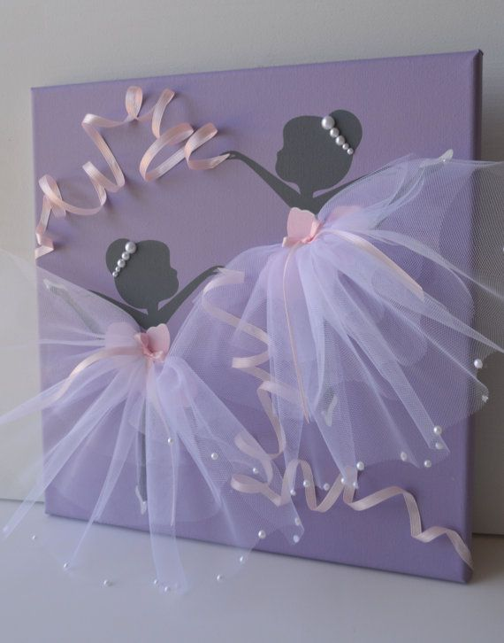 Reserved listing for Kara. Dancing Ballerinas in por FlorasShop