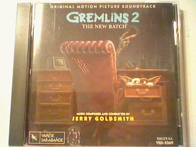 Gremlins 2: The New Batch SOUNDTRACK CD JERRY GOLDSMITH VARESE SARABANDE OST OOP #FilmScoreSoundtrack