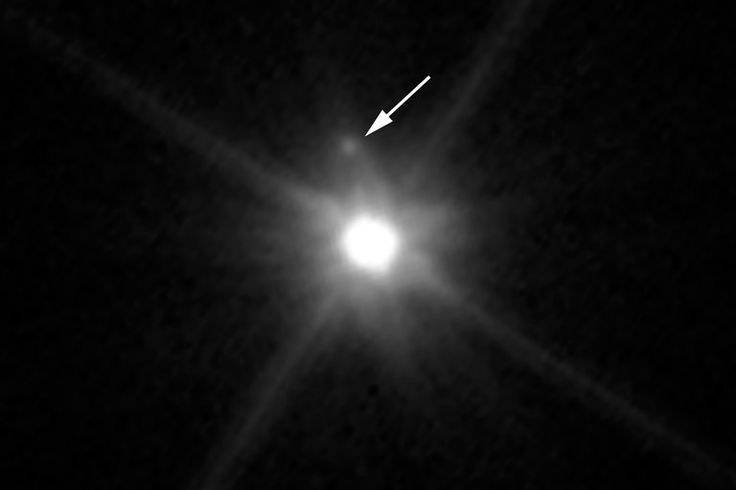 Astronomers found the moon, nicknamed MK2, in an image taken by the Hubble Space Telescope.