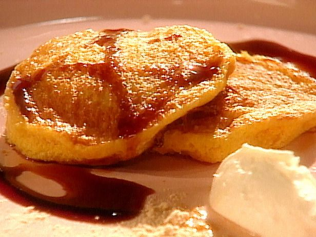 Squash pancakes with fig syrup.....yummmmmm