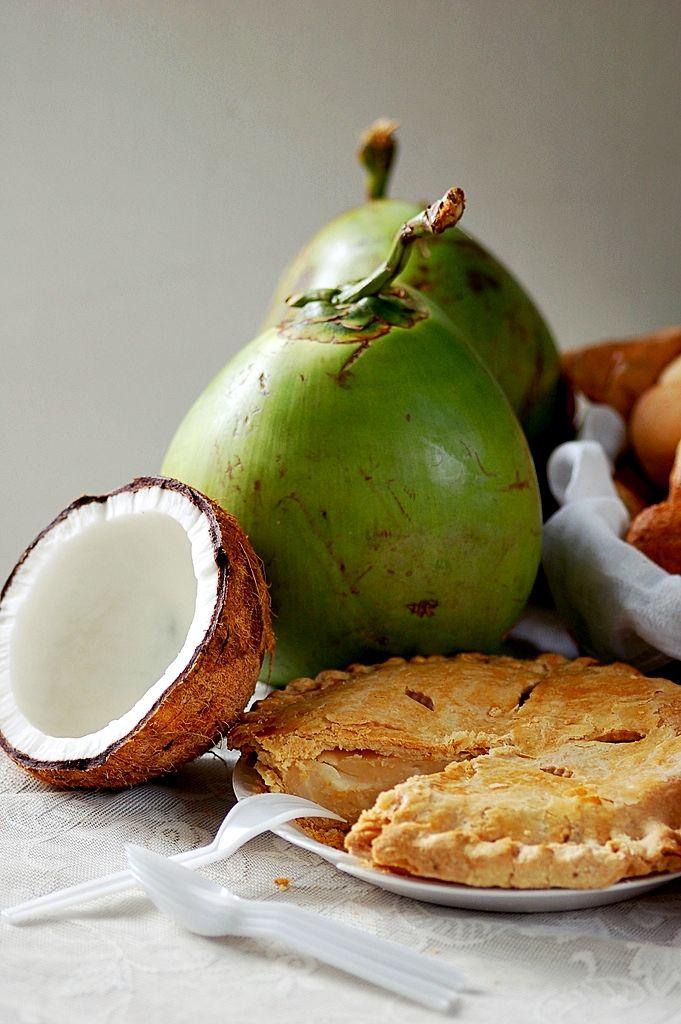Receita básica de Buko Pie, #torta de boas vindas nas Filipinas, uma das melhores coisas que já comi na vida #recipe
