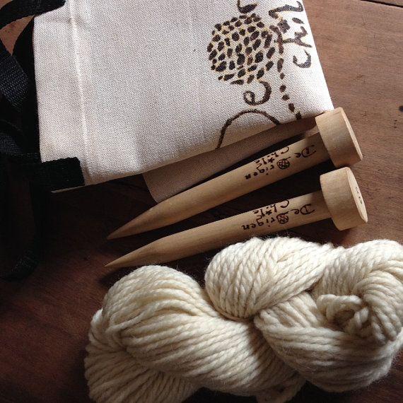 Scarf DIY Kit by deorigenchile on Etsy