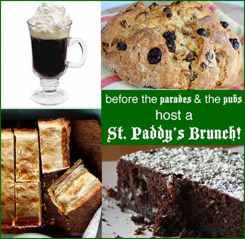 Pre-parade St Patrick's Day Brunch