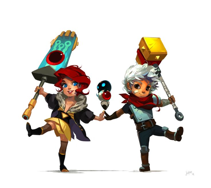 Transistor is out! Supergiant Games officialy has two characters that I may NOW MASH TOGETHER FOR THE GIGGLES :D!