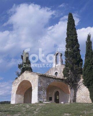Chapel St. Sixte, Eygalieres, Provence, France, Numer utworu: IBR0491219, Fotochannels