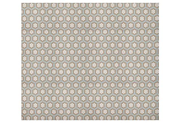 One Kings Lane - Designer Icon David Hicks - Honeycomb Wool Rug, Camel