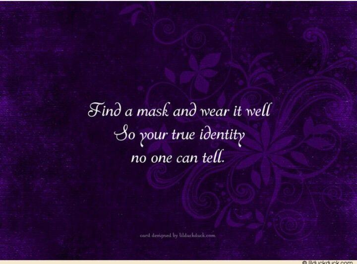 Masquerade invitations idea