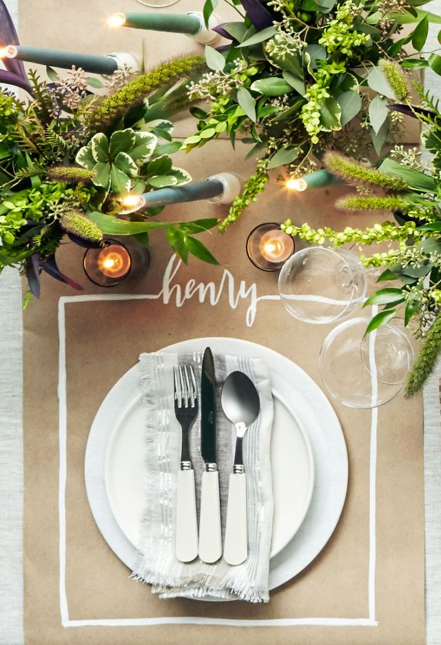 36 Elegant and Easy Thanksgiving Table Settings  - CountryLiving.com